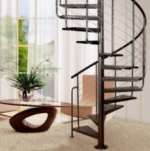 tips on cleaning spiral metal staircase