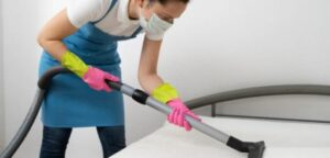 how to clean dust mite on floors