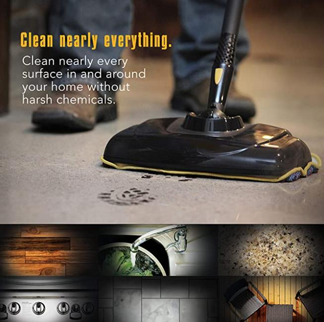 McCulloch MC1385 Canister Steam Mop In-depth Review
